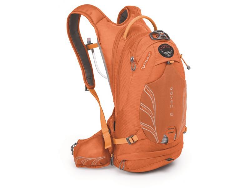 Dámský batoh Osprey Raven 10, tiger orange