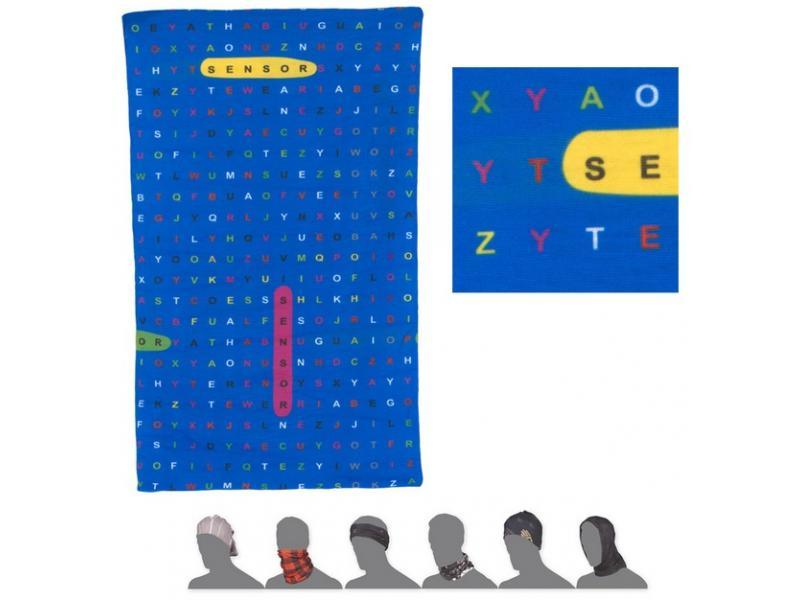Nákrčník Sensor Tube - dětské, Type