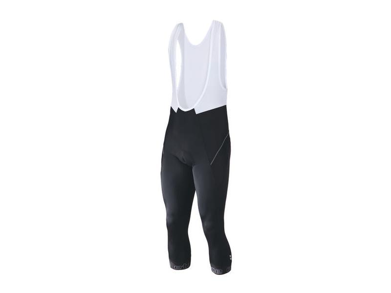 3/4 kalhoty Etape Profi - pánské, lacl, černá/bílá - 1615210 - velikost M