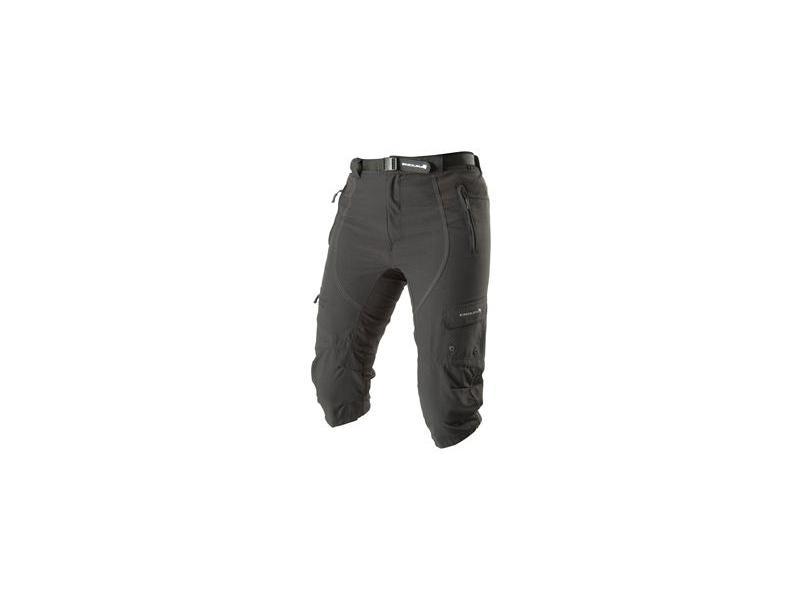 3/4 kalhoty Endura Hummvee - dámské, volné, černé - E8006 - velikost S