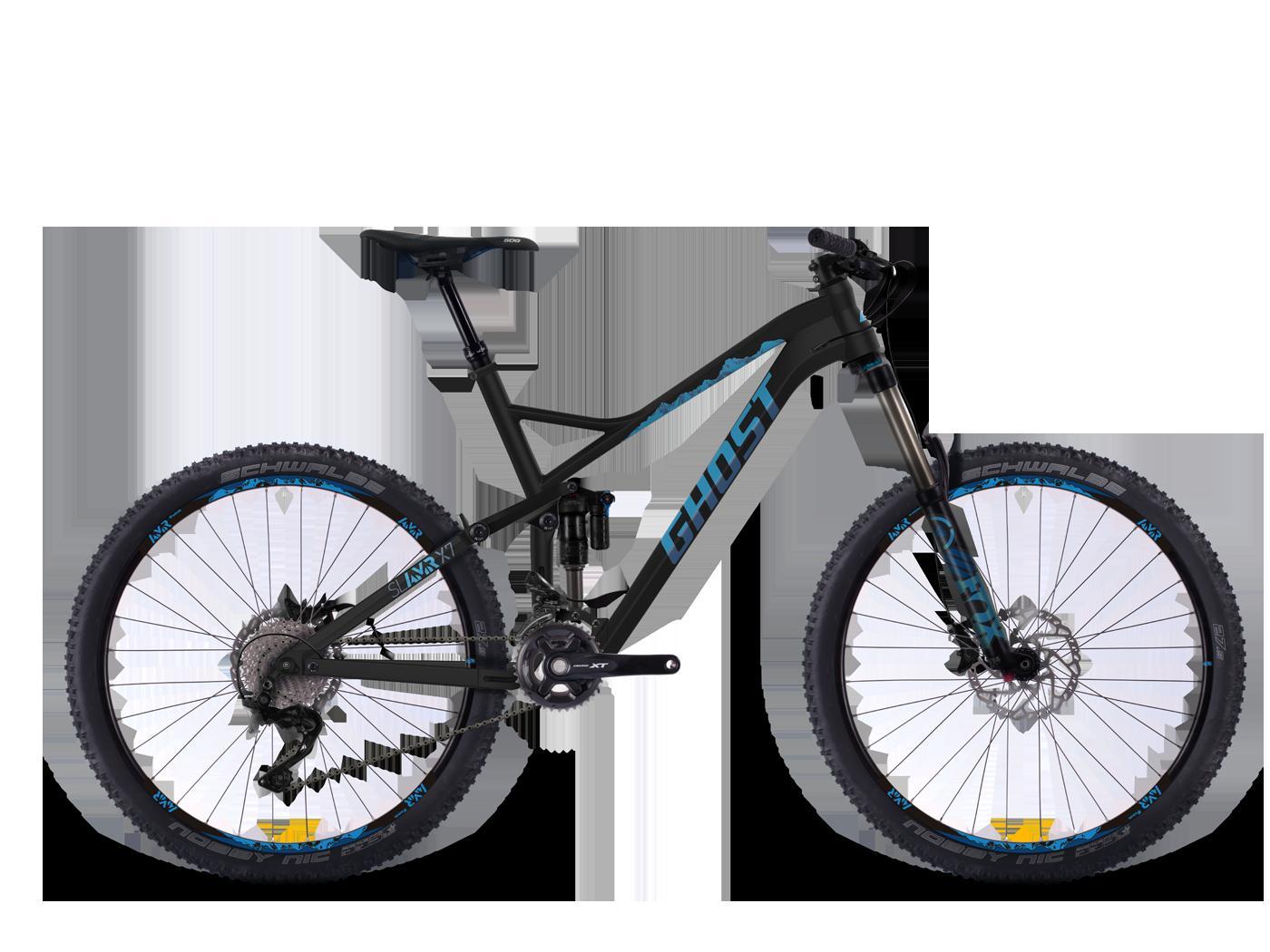 ghost sl amr x 7 black blue darkblue 2016 27 5 bike. Black Bedroom Furniture Sets. Home Design Ideas
