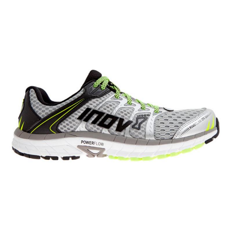 Pánská silniční obuv Inov-8 ROADCLAW 275 (S) silver grey neon yellow ... e06b86e779
