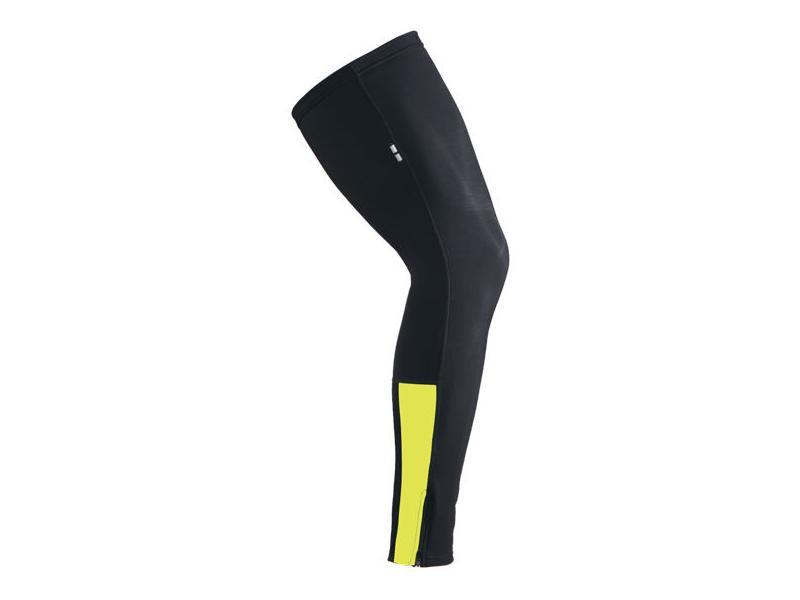 Návleky na nohy Etape - černá/žlutá - 1610614 - velikost L