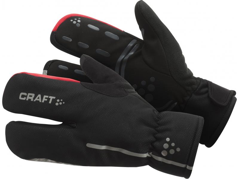 Rukavice Craft Siberian Split Finger - černá 9430  0648515815