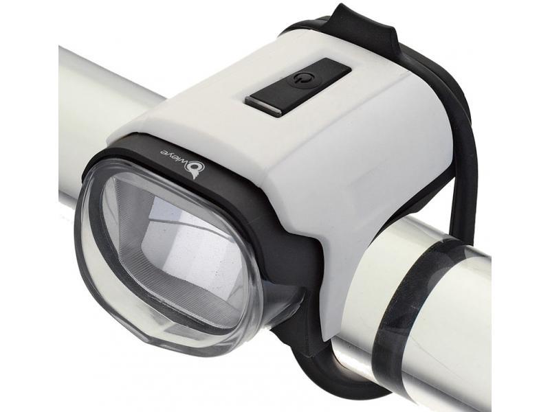 Přední světlo Owleye Highlux 18 - bílé, nabijecí