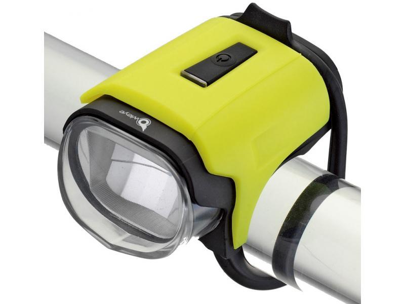 Přední světlo Owleye Highlux 18 - limetka, nabijecí