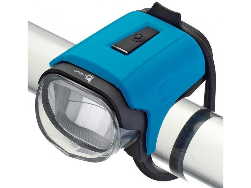 Přední světlo Owleye Highlux 18 - sky modrá, nabijecí