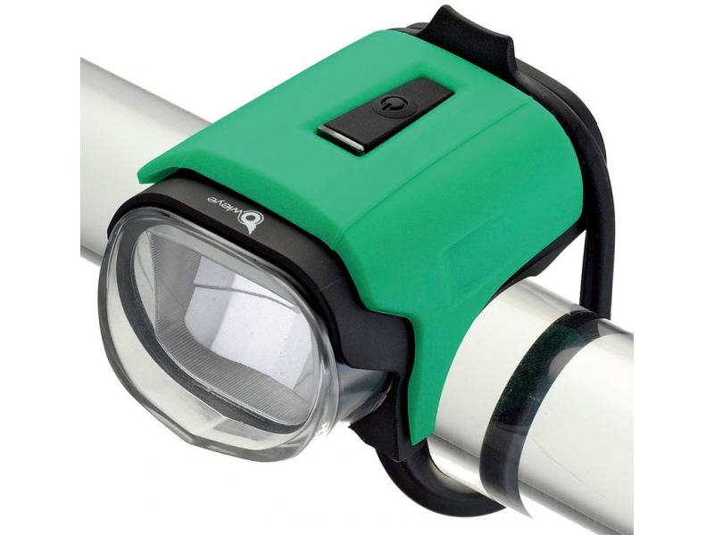 Přední světlo Owleye Highlux 18 - sky zelené, nabijecí