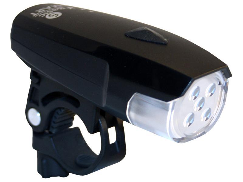 Světlo přední Smart 111 Polaris 5LED - černé