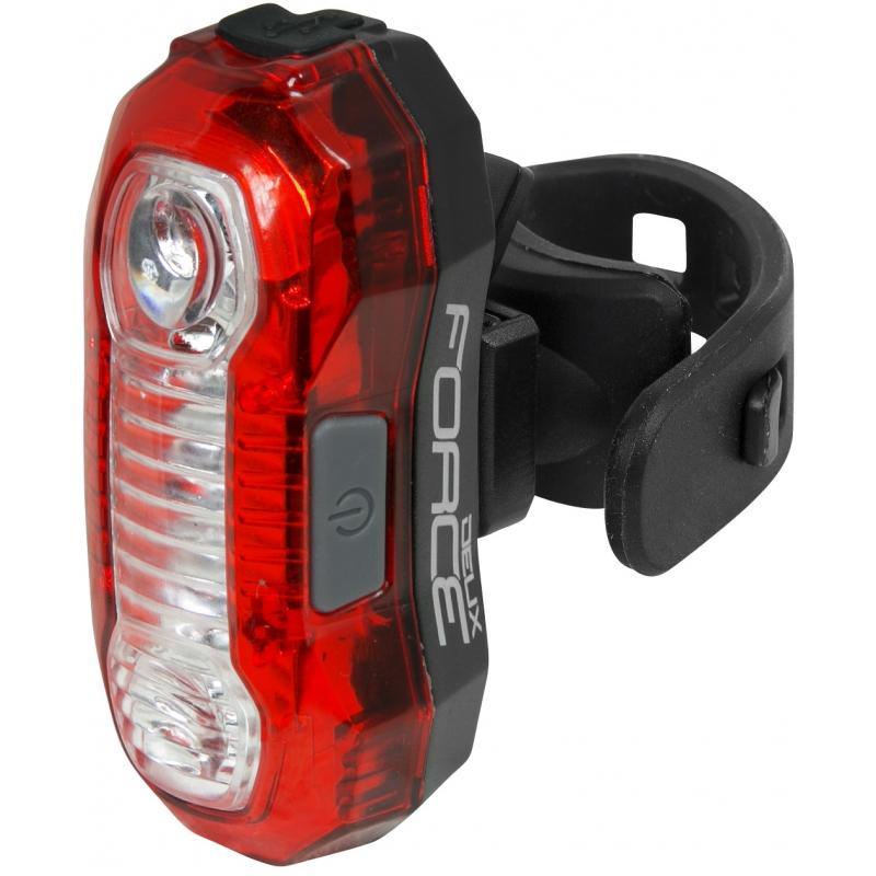 Zadní světlo Force Deux 5 LED, USB