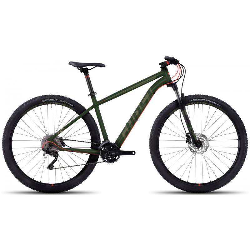 Ghost Kato 5 green/green/red 2017 (27,5) - velikost M