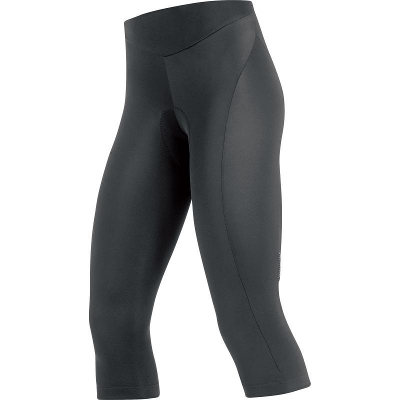 3/4 kalhoty Gore Element Plus - dámské, black - velikost 44