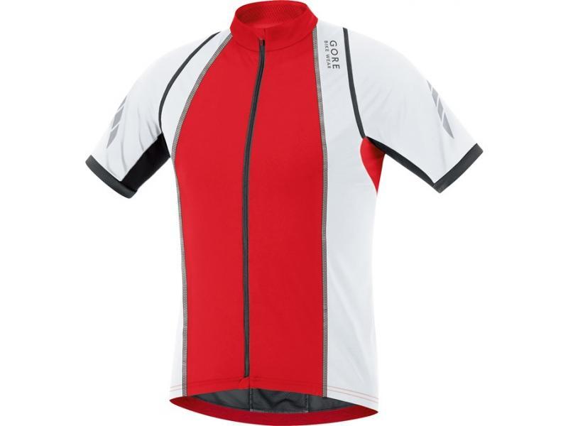 Dres Gore Xenon 3.0 - pánský, red/white - velikost XXL