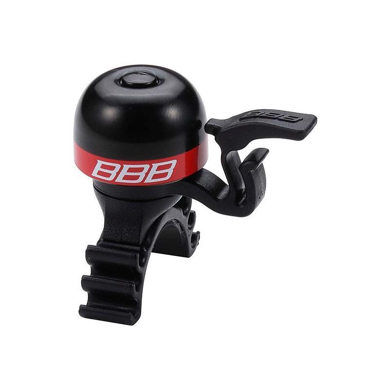 Zvonek BBB-16 MiniFit - červená