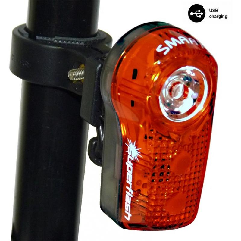 Zadní světlo SMART 317 R 1/2W LED USB
