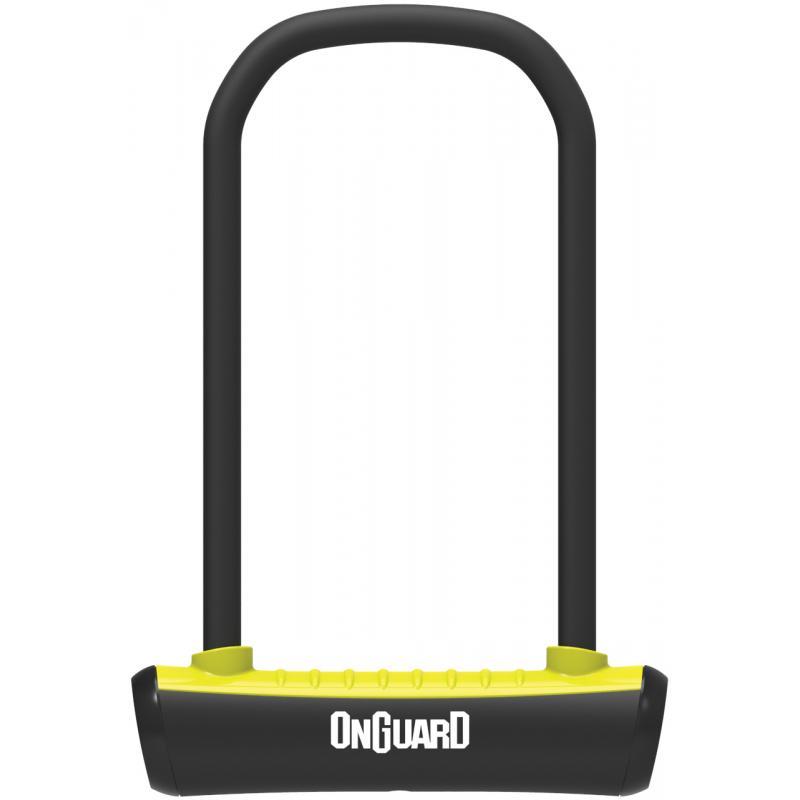 Zámek Onguard podkova 115x230x11mm, žlutá, 2klíče, držák