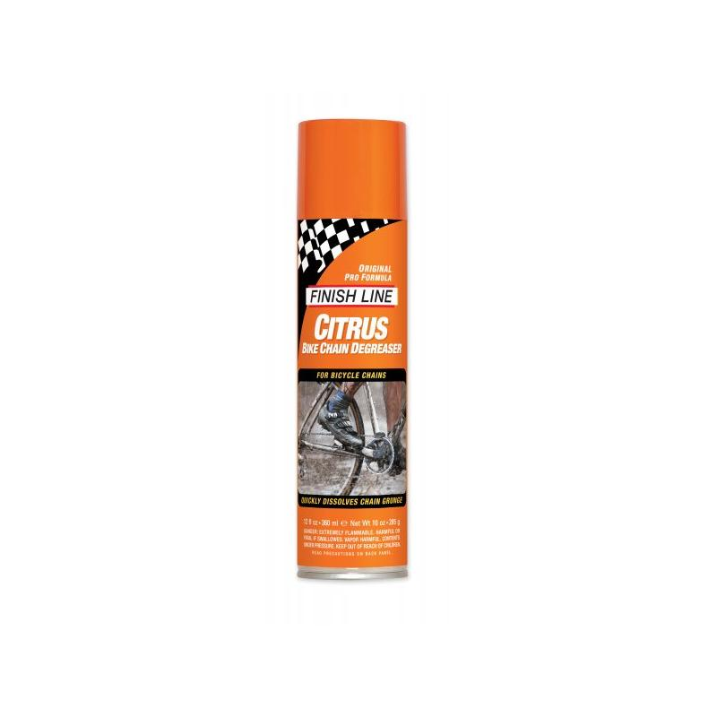 Odmašťovač Finish Line Citrus - sprej 355 ml
