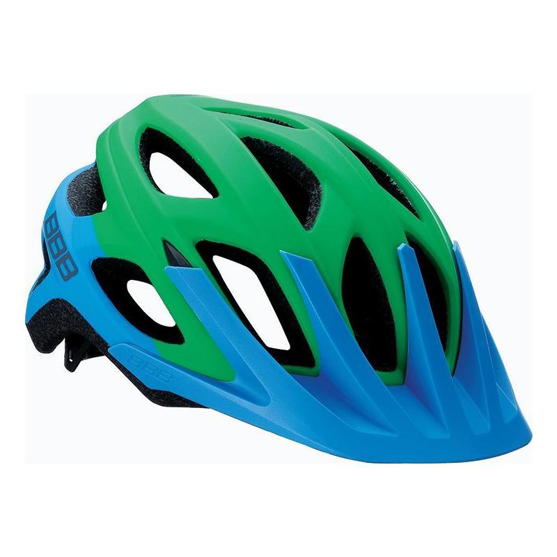 Přilba BHE-67 Varallo 2016 - mod./zelená - Velikost L (58- 62 cm)