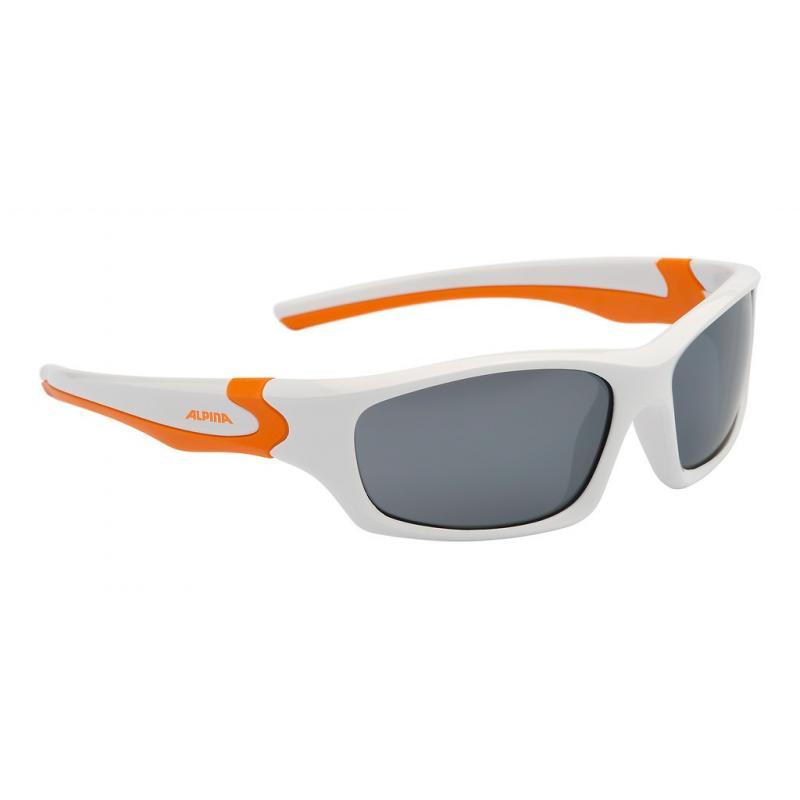 Brýle Alpina Flexxy Teen - bílá/oranžová A8496312