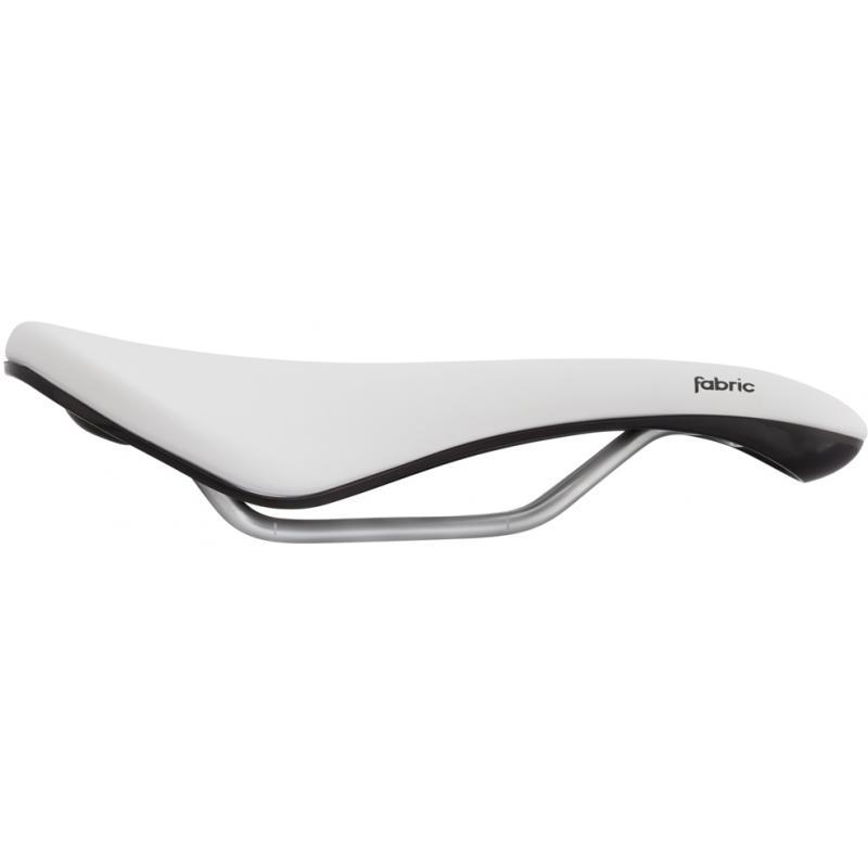 Sedlo Fabric Scoop Elite Shallow - White/Black, dámské (FP7107U41OS)