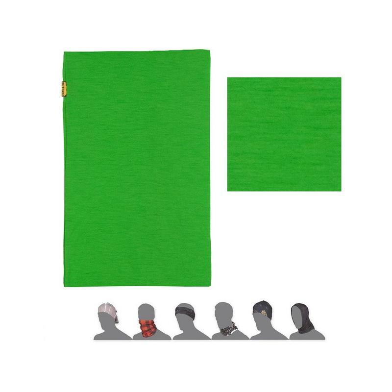 Nákrčník Sensor Tube Merino Wool - zelená