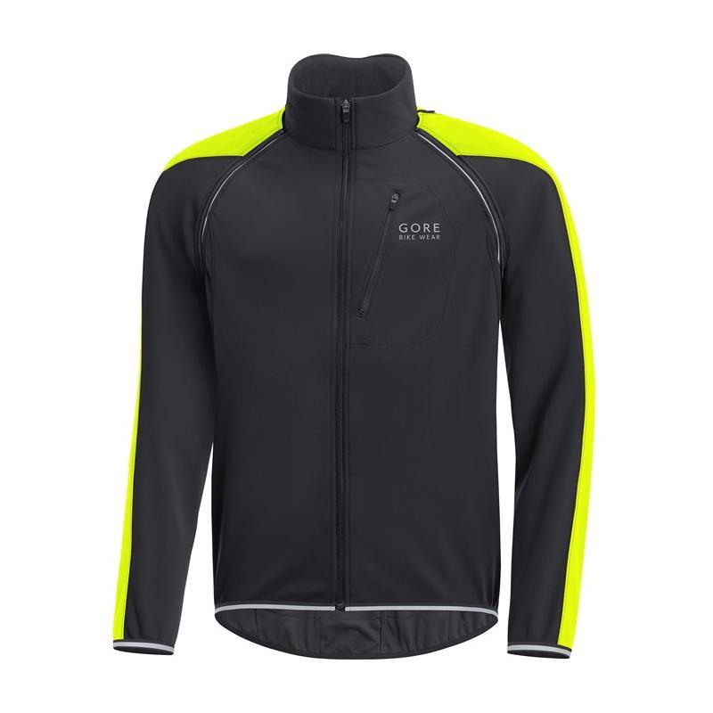 Bunda Gore Phantom WS Zip-Off - pánská, černá-žlutá - velikost L