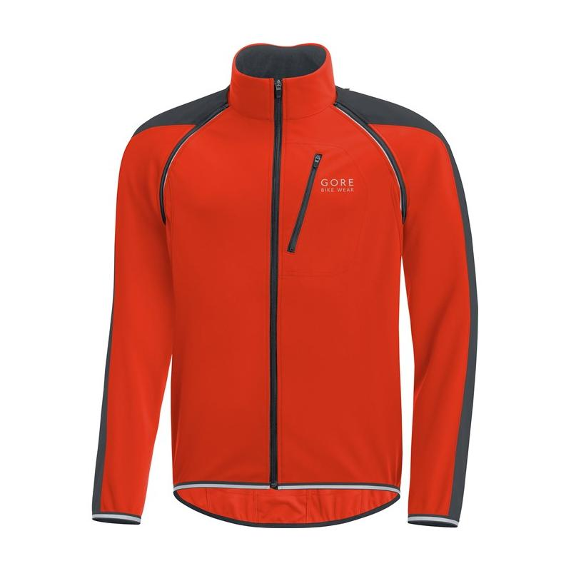 Bunda Gore Phantom WS Zip-Off - pánská, oranžová-černá - velikost M