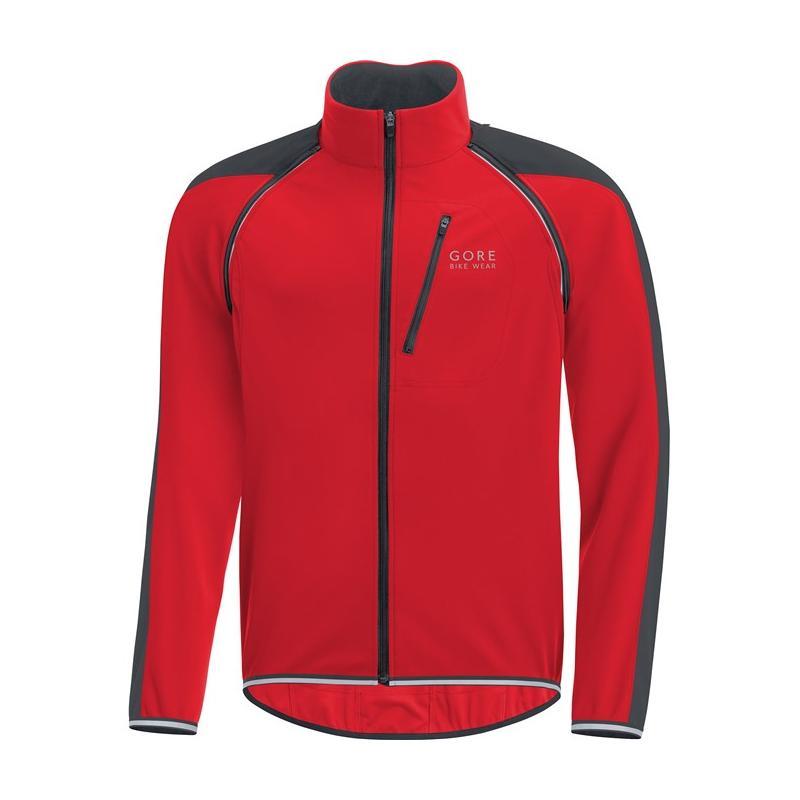 Bunda Gore Phantom WS Zip-Off - pánská, červená-černá - velikost L