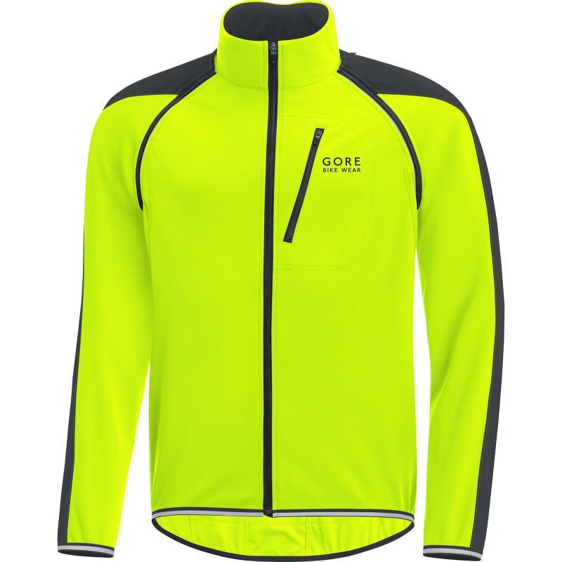 Bunda Gore Phantom WS Zip-Off - pánská, neon-černá - velikost XL