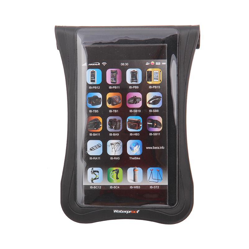 Pouzdro vodotěsné na řidítka Ibera IB-PB20 - Smartphone 5,0 - 5,8+Q5