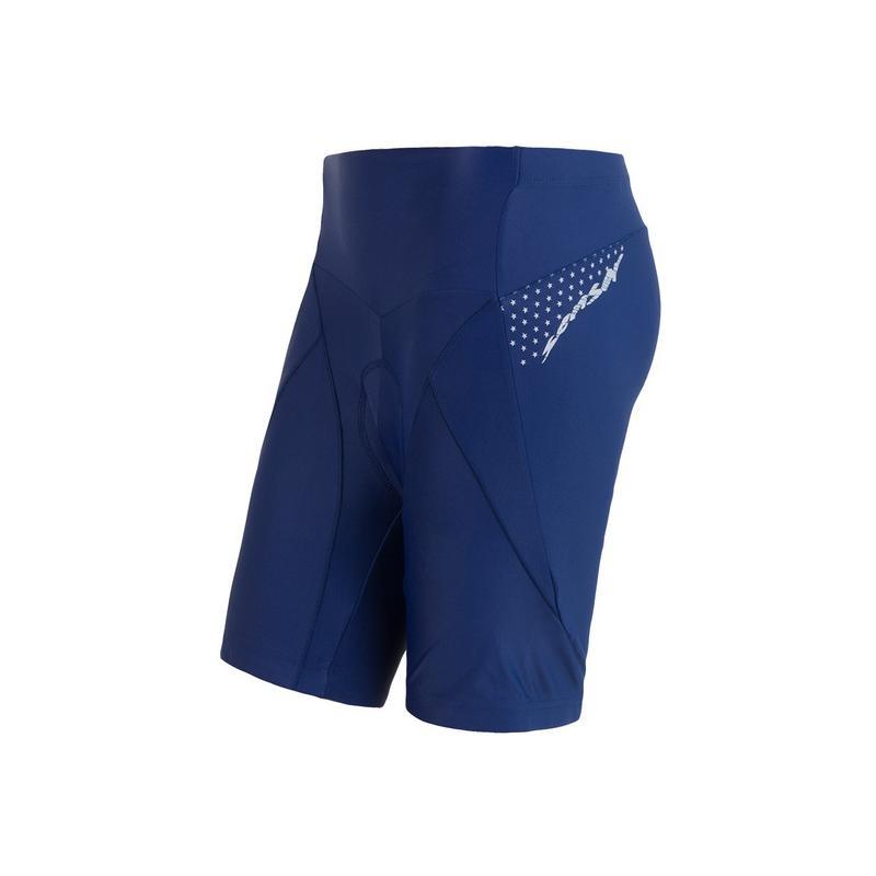Kalhoty Sensor Cyklo Race + - dámské, modrá - velikost L