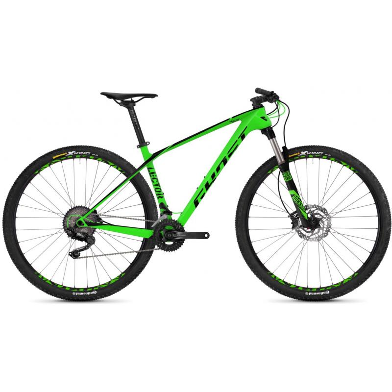 Ghost Lector 2.9 LC green/black 2018 (29) - velikost L, 50 cm (19,5)