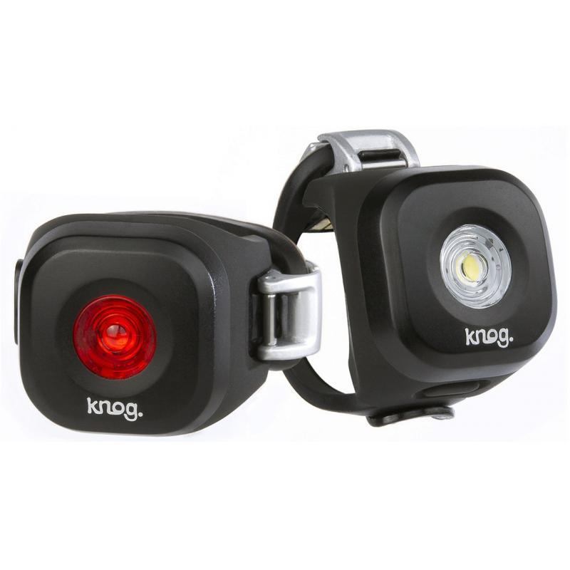 Fotografie Sada světel KNOG Blinder MINI Dot Twinpack - set přední a zadní světlo