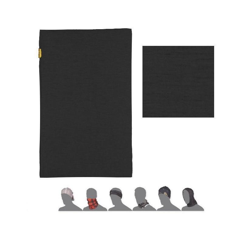 Nákrčník Sensor Tube Merino Wool - černá