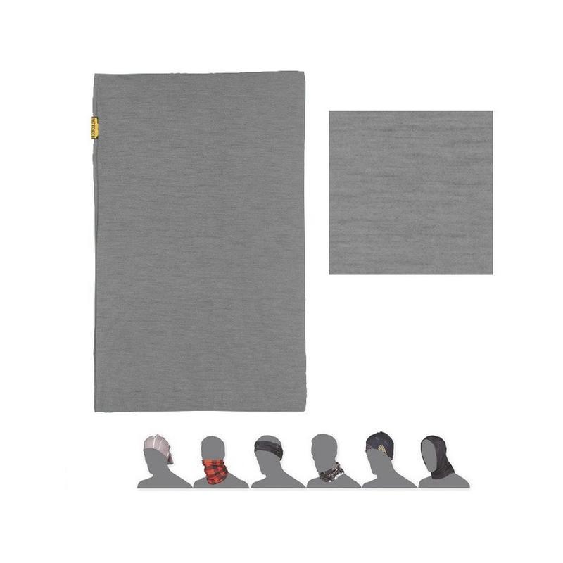 Nákrčník Sensor Tube Merino Wool - šedá
