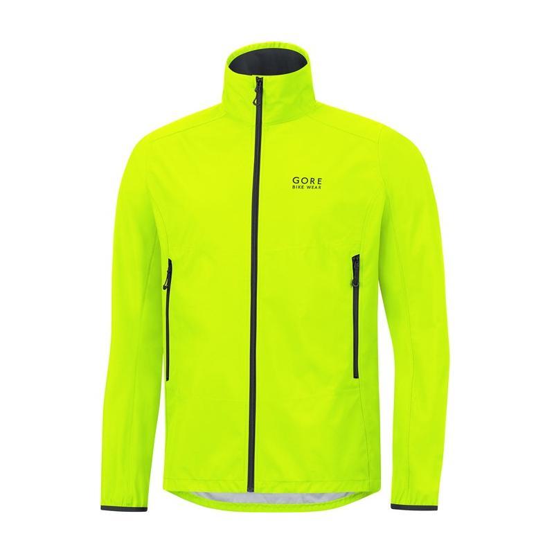 Bunda Gore Bike Wear WS - neon yellow - velikost L