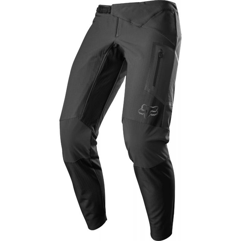 Kalhoty Fox Attack Fire - pánské, dlouhé, černá 19839-001 - velikost 36 XL