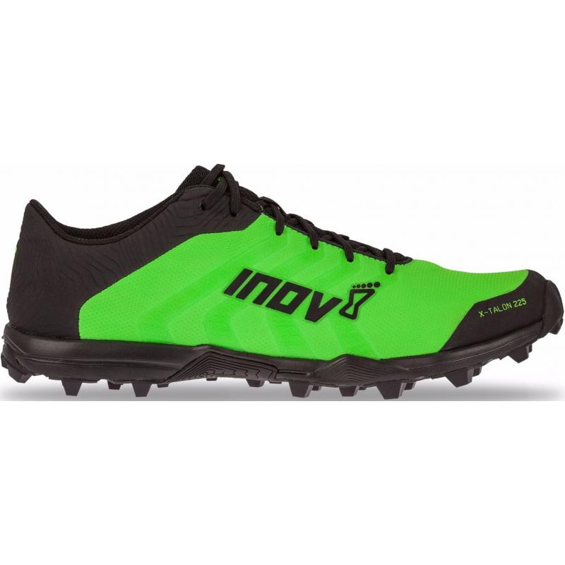 Běžecké boty INOV-8 X-TALON 225 (P) green/black - velikost 10 UK