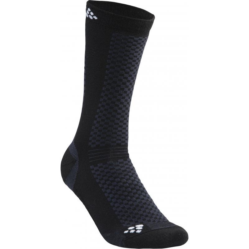 1dfad5a88839c Ponožky CRAFT Warm 2-pack 1905544-999900, černé | Bike-Eshop.CZ