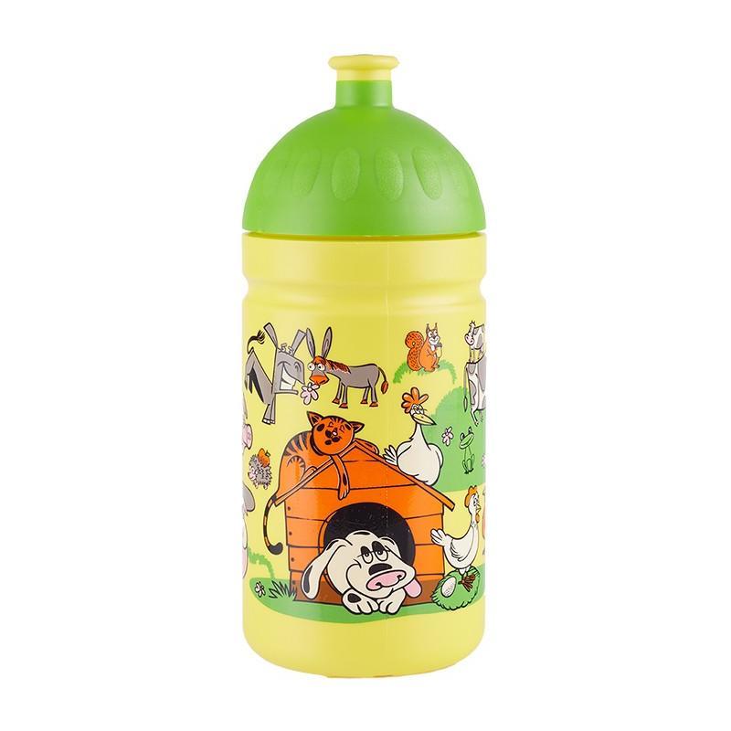 Zdravá lahev Ramp;B 0,5 l - veselý dvorek