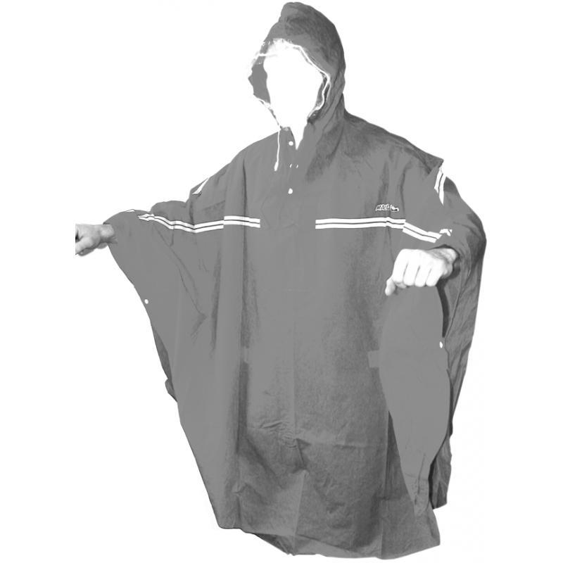 Pláštěnka 2You pončo, PVC - černá