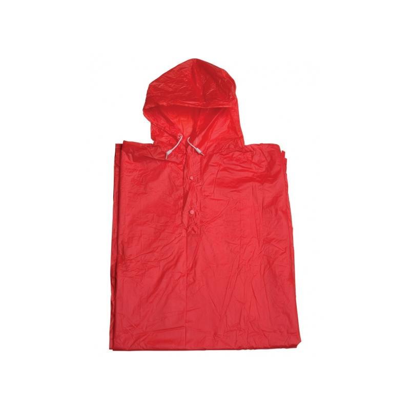 Pláštěnka 2You pončo, PVC - červená