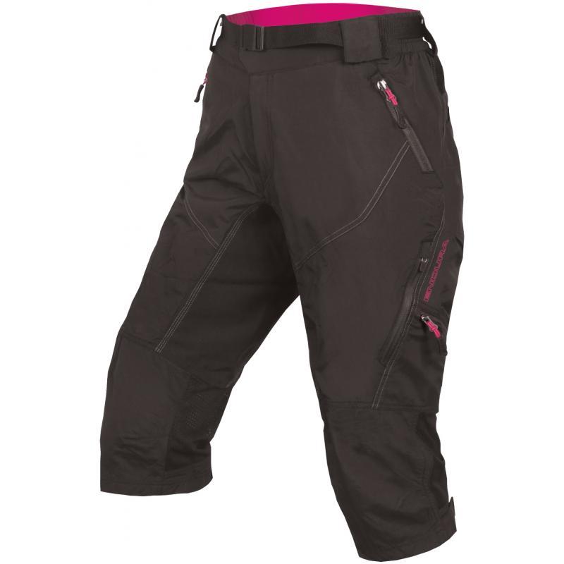 3/4 kalhoty Endura Hummvee II- dámské, černé - Velikost M