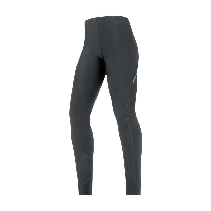 Kalhoty GORE Element Lady Thermo Tights - dámské, do pasu, černé - Velikost 36