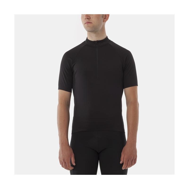 91ef64d2c GIRO Chrono Sport 1 2 Zip Jersey black