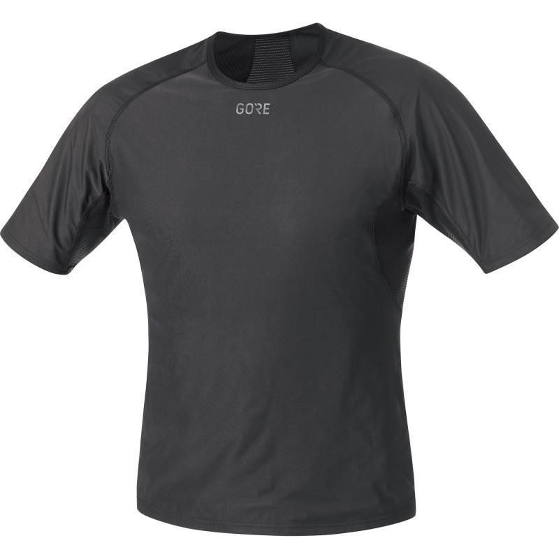 Triko Gore M WS Base Layer - pánské, krátké, černá - velikost L