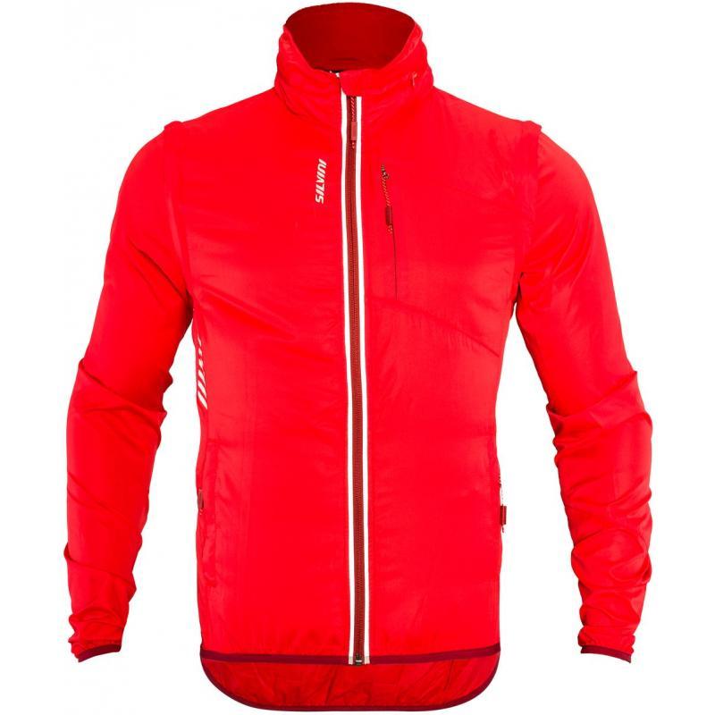 Bunda Silvini Vetta MJ1219 - pánské, červená - velikost 4XL