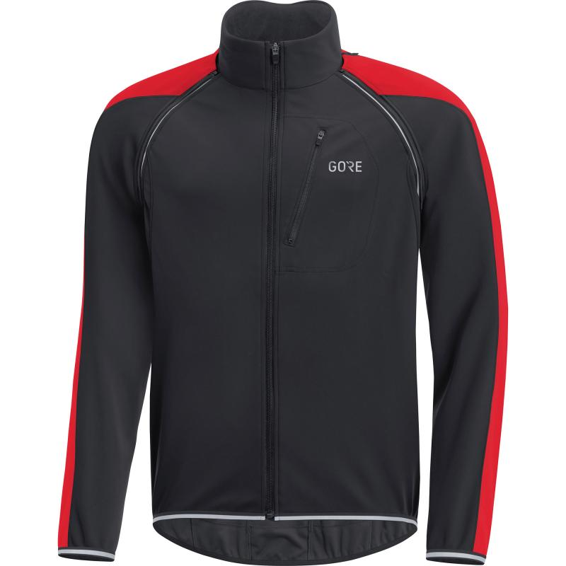Bunda Gore C3 WS Phantom Zip-Off - pánské, černo-červená - velikost L