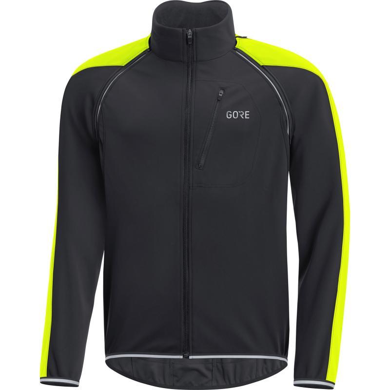 Bunda Gore C3 WS Phantom Zip-Off - pánské, černo-žlutá neon - velikost L