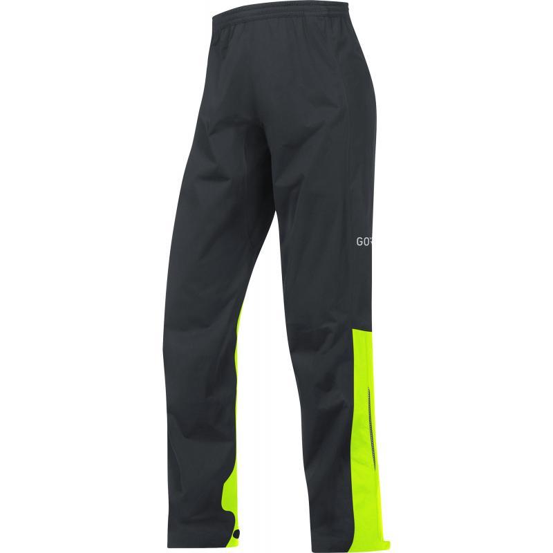 Kalhoty Gore C3 GTX Active - pánské, volné, černo-žlutá neon - velikost L